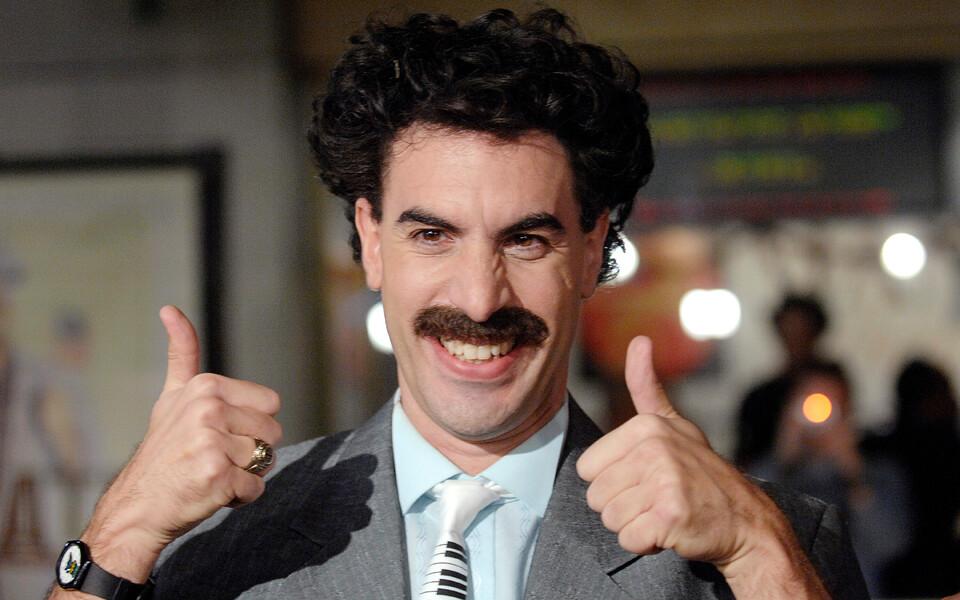 Näitleja Sacha Baron Cohen Borati-rollis.
