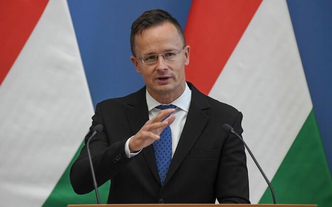 Ungari välisminister Peter Szijjarto.