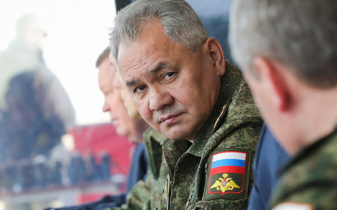 Vene kaitseminister Sergei Šoigu.