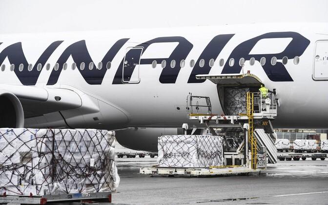 Kaubaveod on toonud raskustes Finnairile mõningat leevendust.