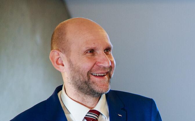 Isamaa leader Helir-Valdor Seeder.