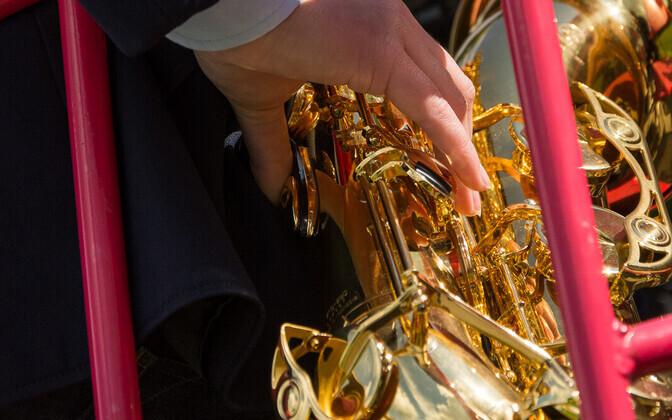Saksofonimängija