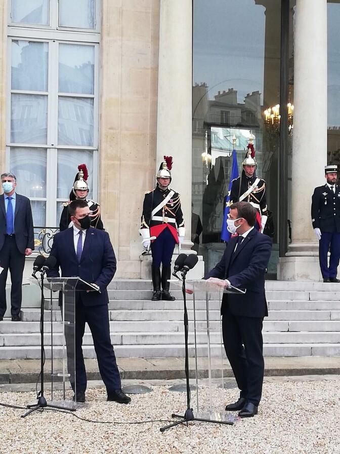 Ratas ja Macron allkirjastasid strateegilise partnerluse deklaratsiooni