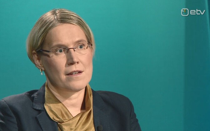 Chancellor of Justice Ülle Madise on