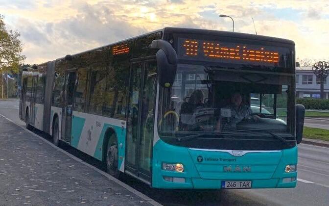 Автобус №1А в Таллинне.