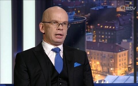 Former justice chancellor Allar Jõks.