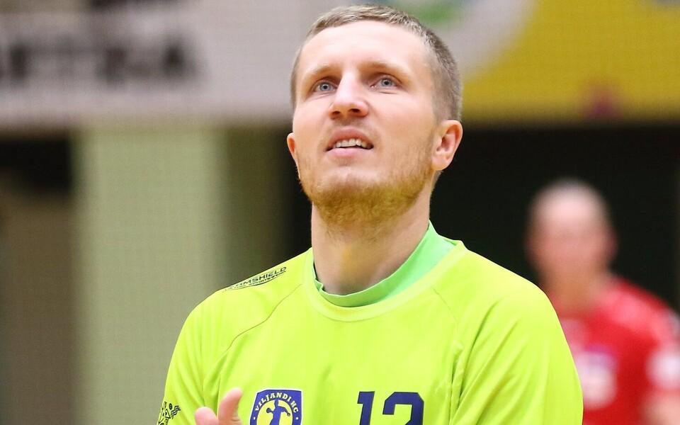 Üks võtmetest Viljandi HC võidus Tallinna üle oli kahtlemata väravavaht Rasmus Ots.