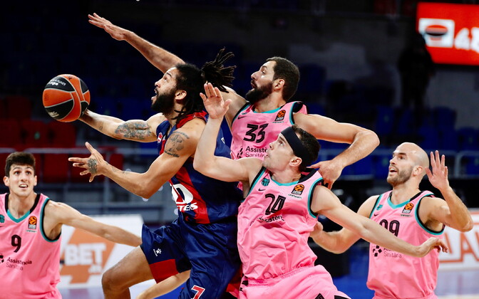 Korvpalli Euroliiga: Baskonia - Barcelona