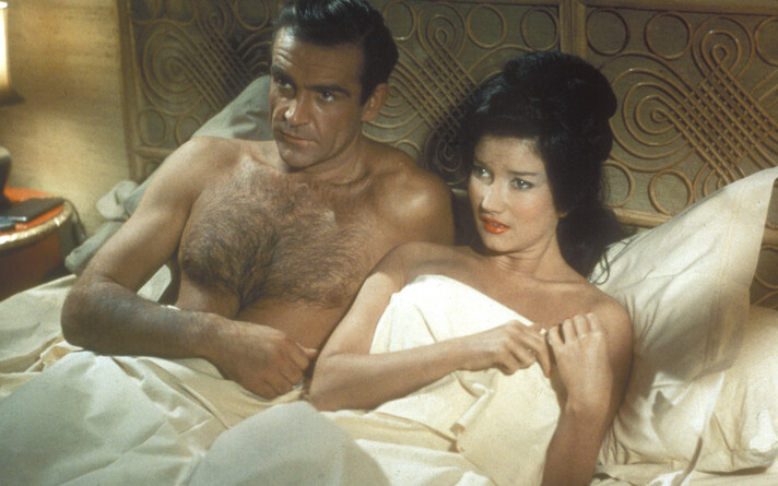 Dr. No (1962)  Sean Connery & Zena Marshall