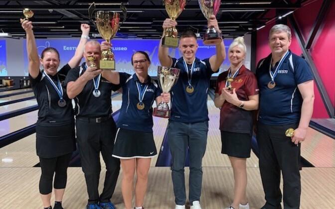 Bowlingu Eesti meistrivõistluste medalistid