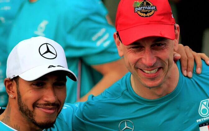 Lewis Hamilton ja Toto Wolff