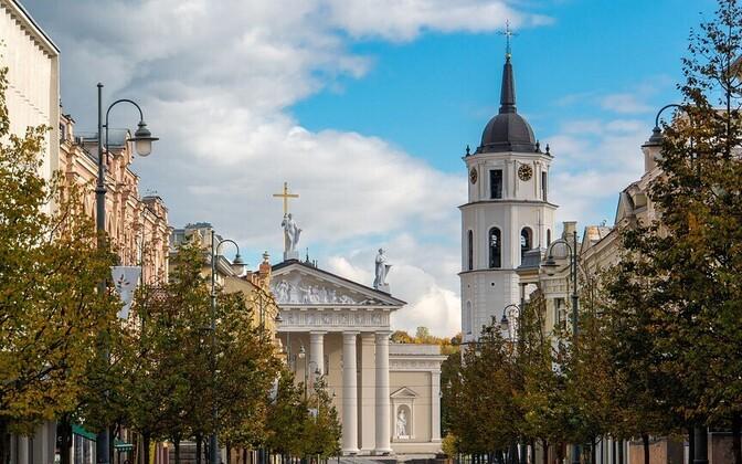 Vilnius, the Lithuanian capital.