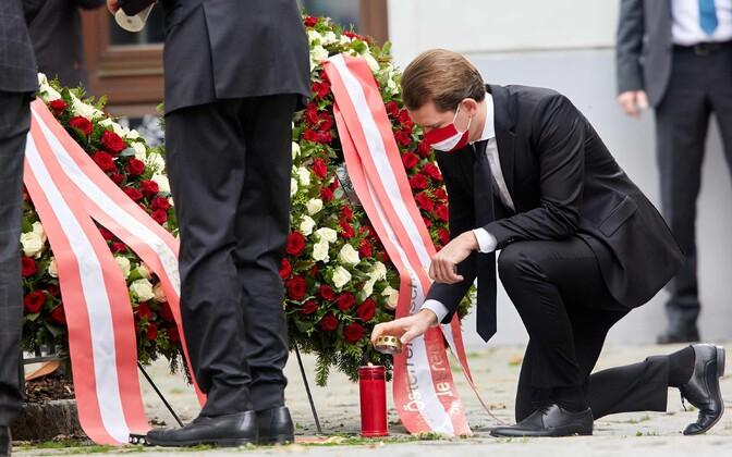 В Австрии во вторник начался трехдневный траур по погибшим.