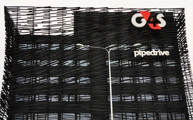 G4S headquarters building on Paldiski maantee, Tallinn.