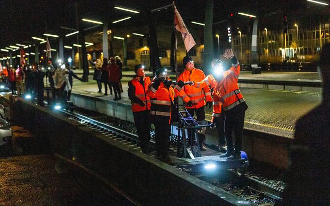 Эстонская железная дорога отмечает 150-летие.