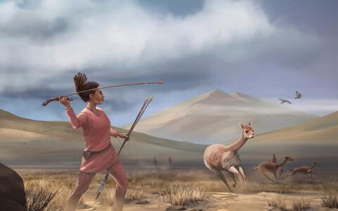 Täpsema statistilise analüüsi järgi võisid muistses Ameerikas olla 30–50 protsenti küttidest naised.