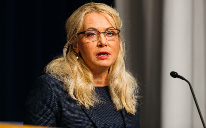 Minister of Population Affairs Riina Solman (Isamaa).