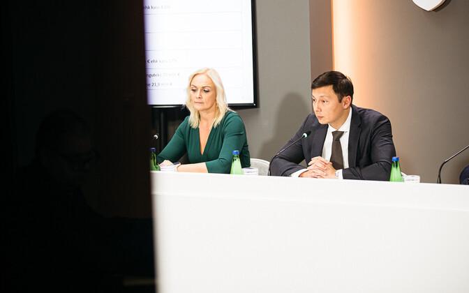 Пресс-конференция Таллиннской горуправы.