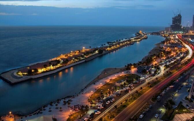 Saudi Araabia GP õsidetakse Jeddahi linnas