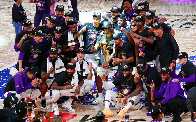 Los Angeles Lakers NBA meistrikarikaga