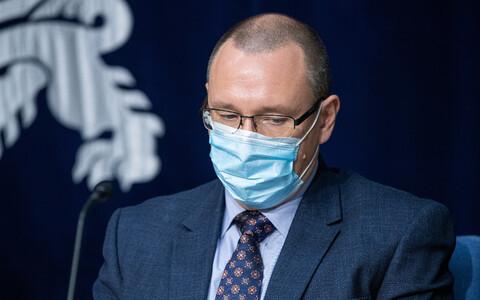 Руководитель медицинского штаба Департамента здоровья Аркадий Попов.