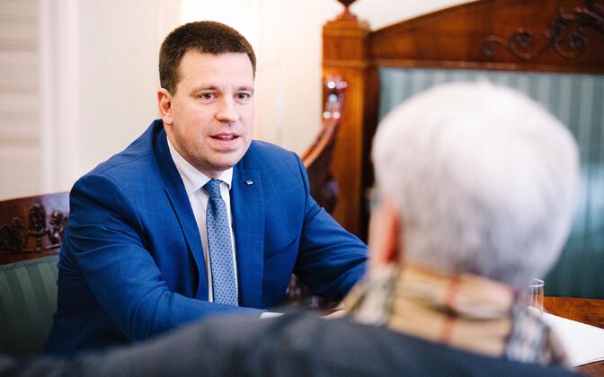 Toomas Sildami intervjuu Jüri Ratasega