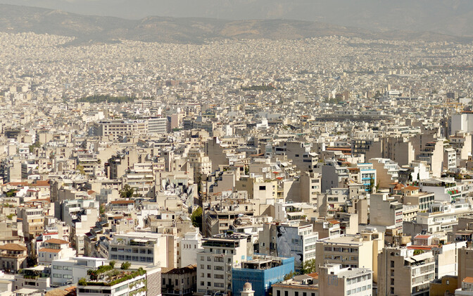 Vaade Ateenale.