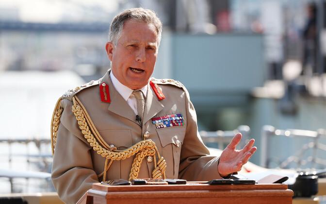 Brit relvajõudude juhataja Nick Carter.