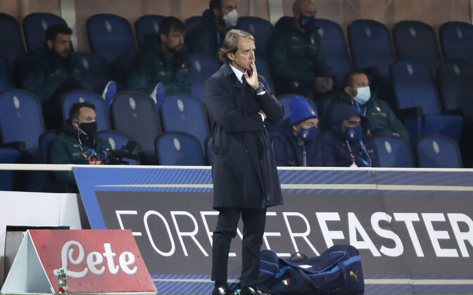 Itaalia jalgpallikoondise peatreener Roberto Mancini