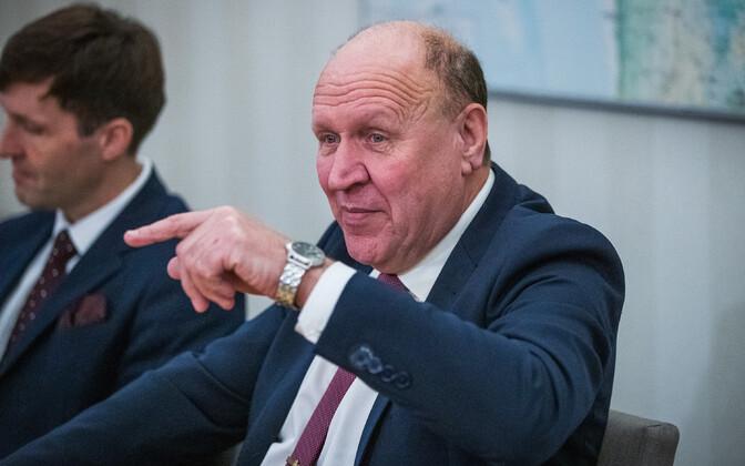 Former interior minister Mart Helme (EKRE).