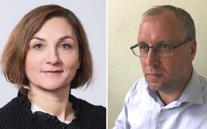 Chris Ellermaa ja Riho Tapfer.