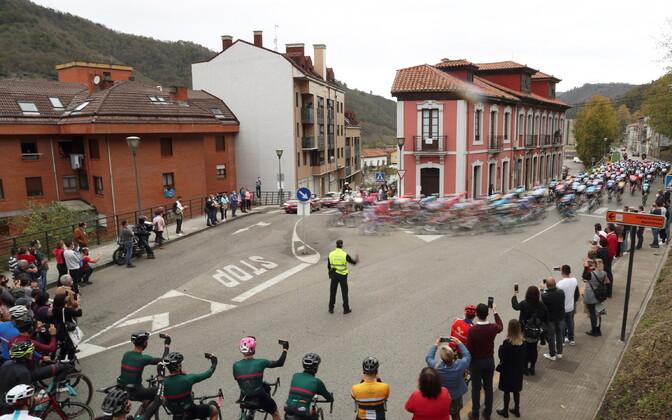 Vuelta velotuuri 12. etapp