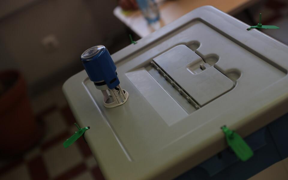 Ящик для избирательных бюллетеней.