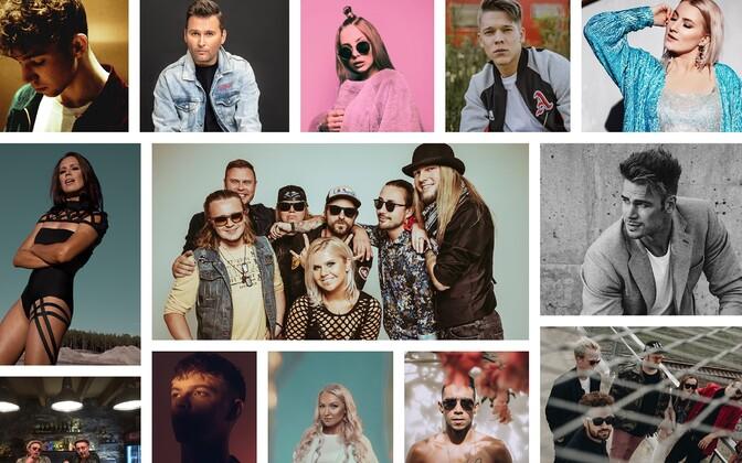 Полуфиналисты Eesti Laul 2021.