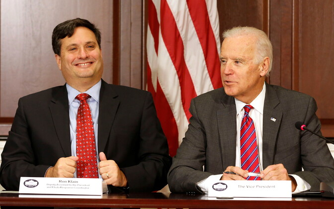 Ron Klain ja Joe Biden 2014. aastal.
