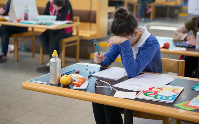 Eksamiperiood võib olla tudengitele stressirohke aeg, mil nad vajavad rohkem vaimse tervisega seotud teenuseid.