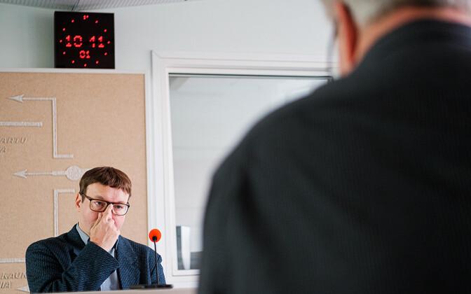 Toomas Sildam's interview with Tõnis Saarts.