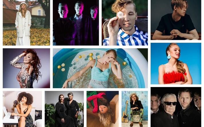 Полуфиналисты Eesti Laul-2021.