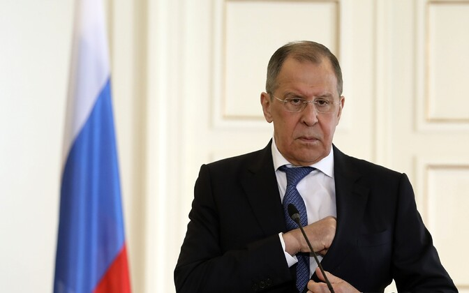 Vene välisminister Sergei Lavrov.