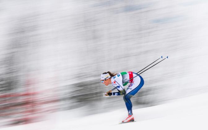 Rootslanna Elina Rönnlund mullusel Lillehammeri MK-etapil