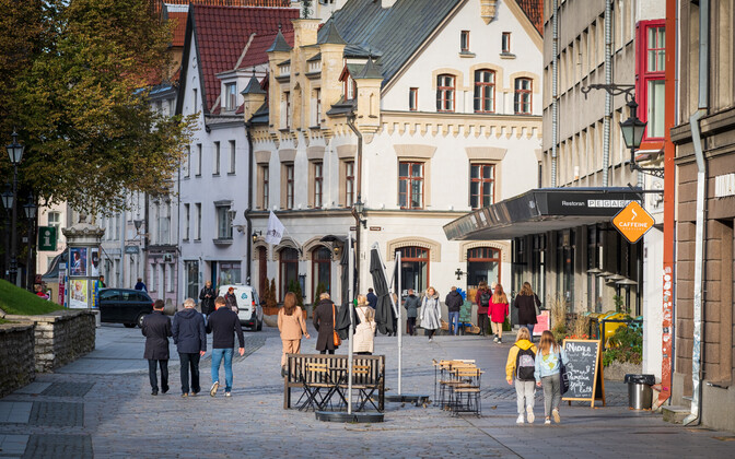 Caterers, accommodation providers and travel agents suffered the most in first wave of coronavirus crisis. (Tallinn Old Town pictured.)
