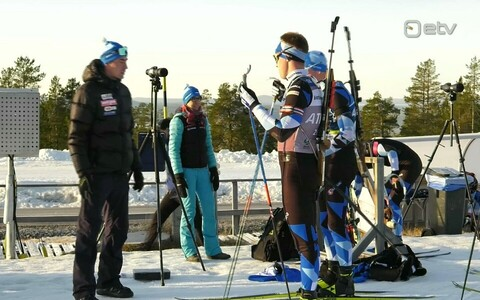 Eesti laskesuusakoondis treenis Rootsis peatreeneri Indrek Tobrelutsu ja treener-analüütiku Karmen Reinpõldi valvsate silmade all