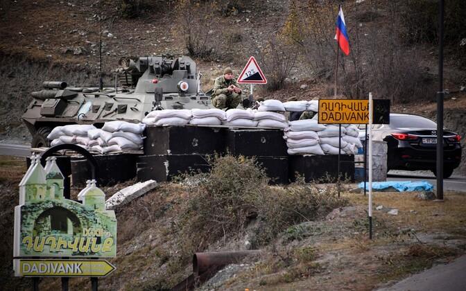 Venemaa sõjaväelased Mägi-Karabahhis.