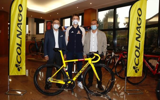 Tadej Pogacar ja Tour de France'i võidu toonud ratas