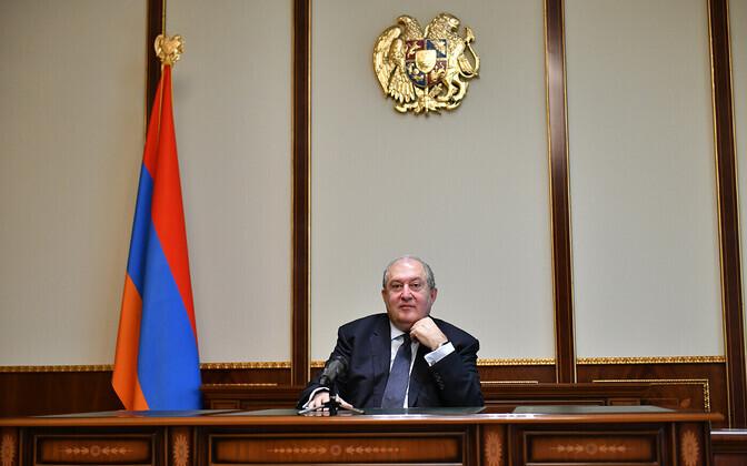 Армен Саргсян обратился к армянскому народу.