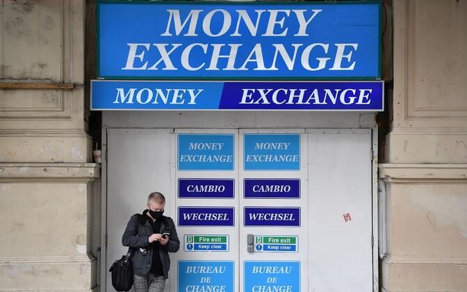 Valuutavahetuspunkt.