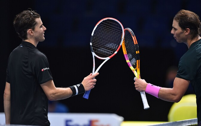 Dominic Thiem ja Rafael Nadal