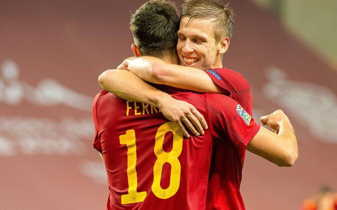 Ferran Torres lõi Saksamaa väravasse kolm palli