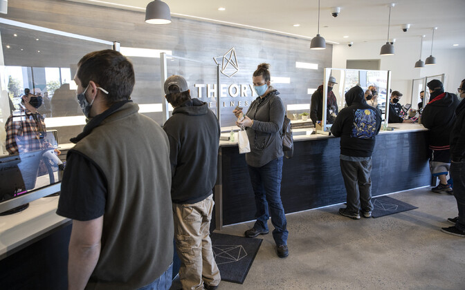 Kanepi legaalse jaemüügi esimene päev USA Maine'i osariigis oktoobri alguses.