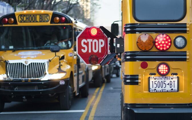 Koolibussid New Yorgis Brooklynis.
